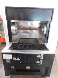 J & R Combo Broiler & Rotisserie