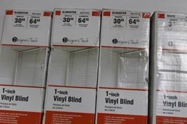 Designer Touch Lot of 4 blinds