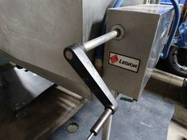 Legion commercial stainless steel tilt skillet