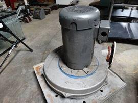 Baldor reliance fan.- 15 hp/ Model-PB-18