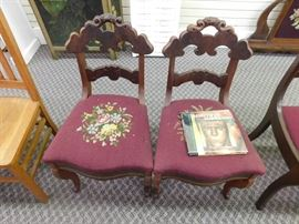 Two Early Chairs with Thomas Day Possible Attribution