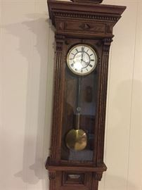 Key wound Wall Clock