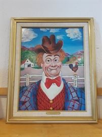 Red Skelton Signed Limited Edition Print
