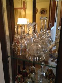 Beautiful Bell Collection - Waterford, Murano, Marquise, Vennise, Germany Cut Glass