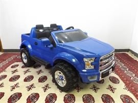 WORKING Fisher Price 4 Wheeler Ford F-150 With Charger