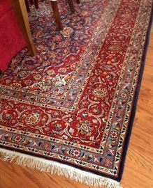 12' x 9' oriental in perfect condition.