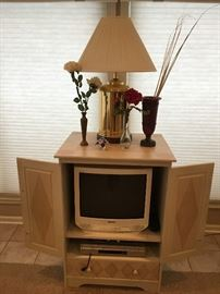 Beautiful Cabinet to hold a small TV or anything your heart desires!