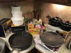 Calphalon Pan, Dutch Oven Set, Pots and Pans, etc.!