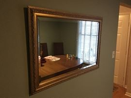 Beautiful Gold Wood Mirror!