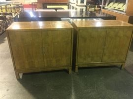 Pair of Mastercraft nightstands/chests. We have the hardware.