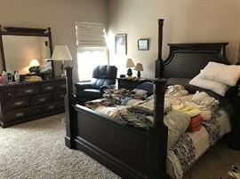 Queen Size Bed Suite.  Includes   Q Bed and 2 night stands.