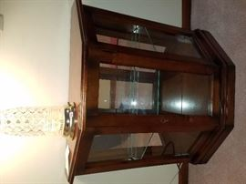 Small display cabinet, $40