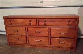 Long Wooden Dresser - Available until Thursday as PRE-SALE