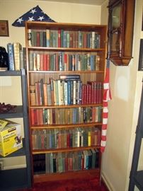 Living Room  Flag, Vintage Books (Some in the 1800's)