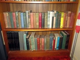 Living Room   Vintage Books (Some in the 1800's)