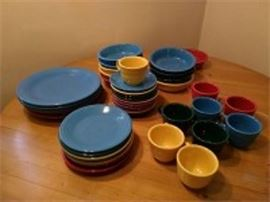 Fiesta Ware Dishes