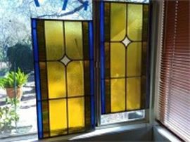 Hanging Stained Glass