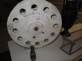 Wind-A-line spool