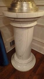 Silver Plate Urn and Pedestal $6,500