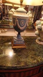 Pair of Wedgewood Lamps $650 for pair