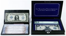 1899 1 Black Eagle Silver Certificate AU 53 PPQ