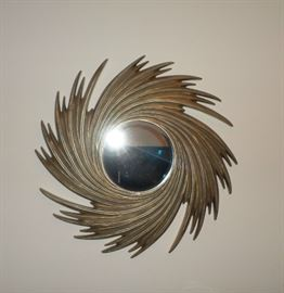 Great Mid-Century Wall Mirror