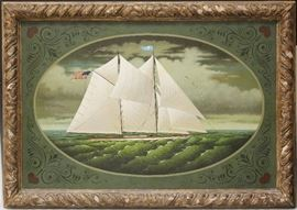 LOT #45- CHARLES WYSOCKI (1928-2002), OIL ON CANVAS