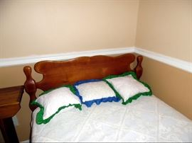 Cushman twin headboard and footboard