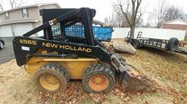 1998 New Holland Skid Steer! 1 OWNER! LOW HOURS!