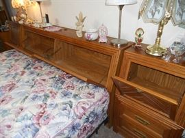 king Bed Headboard with Lots of Storage
