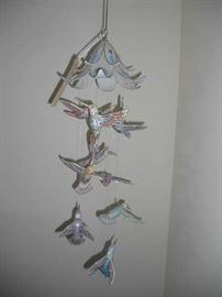 Lena Liu's Precious Jewels Hummingbird Mobile Bradford Exchange