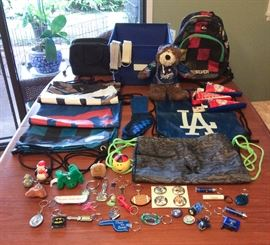 JYR005 Cool Boys Lot Backpacks, Hurley, DC, Quiksilver & More
