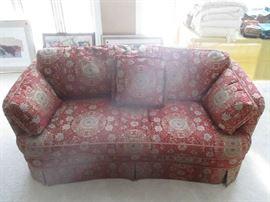 Sherrill furniture sofa, one of two matching