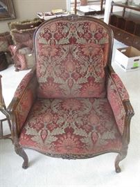 Wonderful side chair,  one of two matching