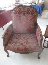 Wonderful side chair, 2 of 2, matching