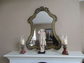 Wall mirror and home decor