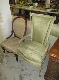 Vintage and antique side chairs