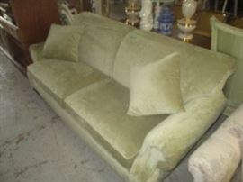 Very nice and clean light green sofa