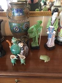 Cloisonne' ,  Asian items