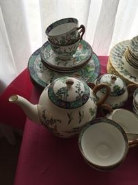 Royal Staffordshire , Tiffany NY Dinnerware