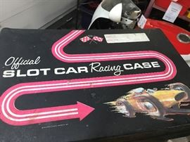 Slot Car Racing Case with cars