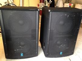 Yorville Cabinet Speakers Elite model no. LS 804 and LS 1004