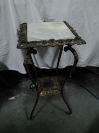 Decorative Side Table with Marble Tophttps://www.ctbids.com/#!/description/share/5784