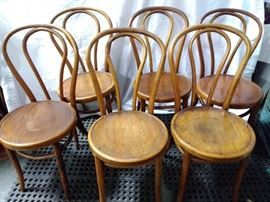 Four Wooden Kitchen Chairs  https://www.ctbids.com/#!/description/share/6045