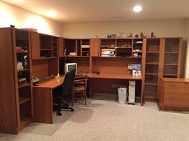 Office Furniture comes apart in Sections