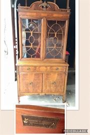 * Lammerts Dining Room Set, China Cabinet, Table w 6 Chairs