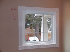 Brand new pella double hung windows