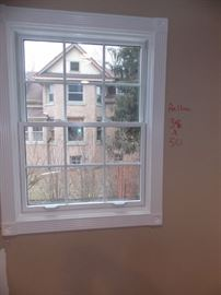 Brand new pella double hung windows
