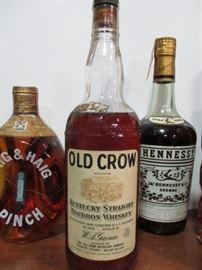 Old Crow Kentucky Bourbon Whiskey
