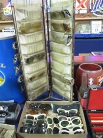 1960's Sunglasses and display